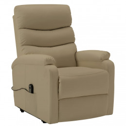 Fauteuil inclinable Cappuccino Similicuir