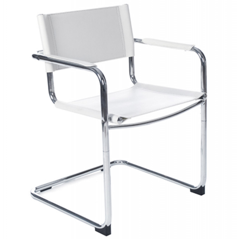 WELCOME chaise design (non empilable) Blanc