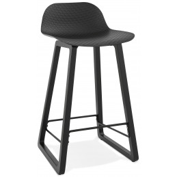 Tabouret de bar design MIKY Mini Noir