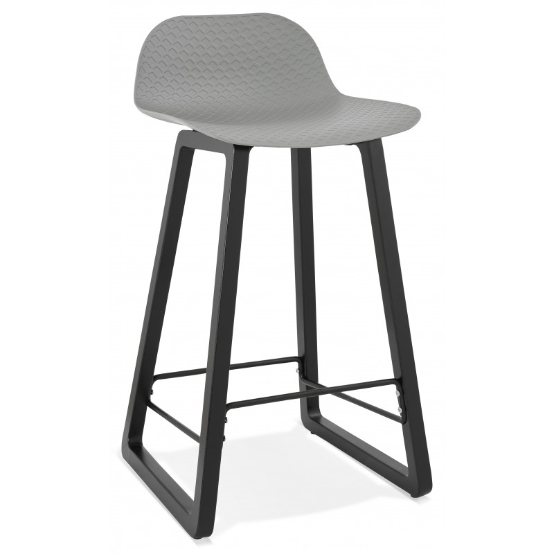 Tabouret de bar design MIKY Mini Gris