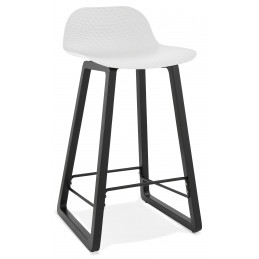 Tabouret de bar design MIKY Mini Blanc