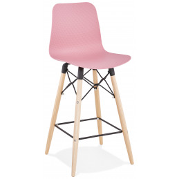 Tabouret de bar design DETROIT Mini Rose