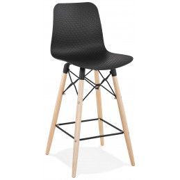 Tabouret de bar design DETROIT MINI Noir