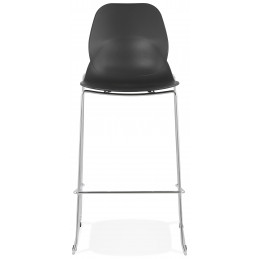 Tabouret de bar design ZIGGY Noir