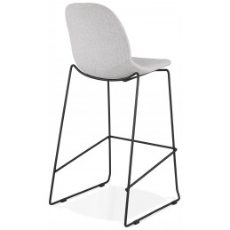 Tabouret de bar design COOPER Gris Clair