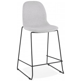 Tabouret de bar design COOPER Mini Gris Clair