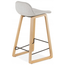 Tabouret de bar design TRAPU Mini Gris Clair