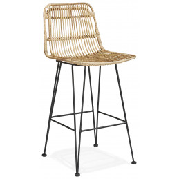 LIANO MINI Tabouret de bar design Couleur Naturelle
