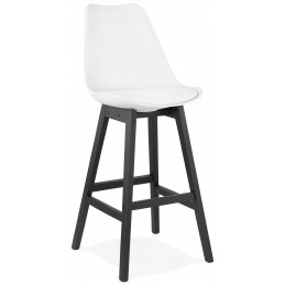 APRIL Tabouret de bar design Blanc