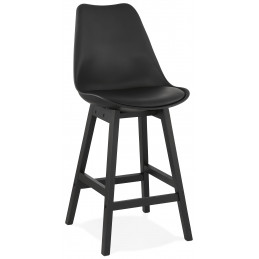 Tabouret de bar design APRIL MINI Noir