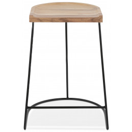 NALLU MINI Tabouret de bar design Couleur Naturelle