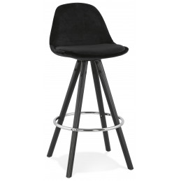 FRANKY MINI 65 Tabouret de bar design Noir