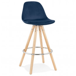 FRANKY MINI 65 Tabouret de bar design Bleu