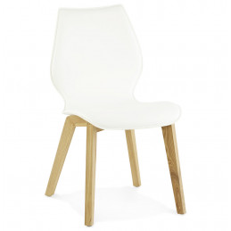 SIRET Chaise design Blanc