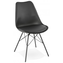 FABRIK Chaise design Noir