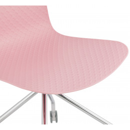 RULLE Chaise design Rose
