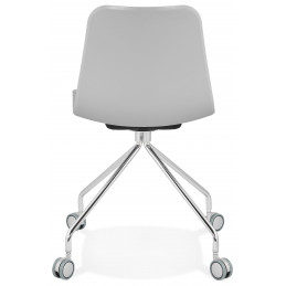 RULLE Chaise design Gris