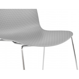 Chaise design BEE Gris