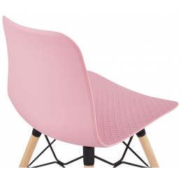Chaise design GINTO Rose