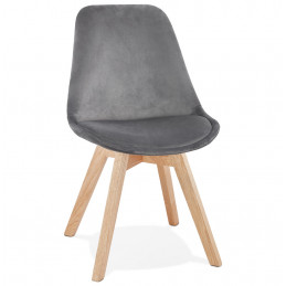 PHIL Chaise design Gris