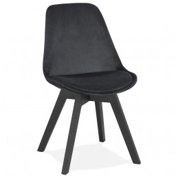 PHIL Chaise design Noir