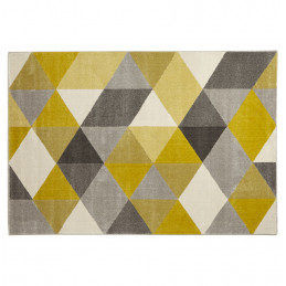 Tapis design MUOTO YELLOW