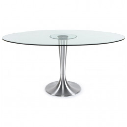 Table diner design Transparent OVALNA