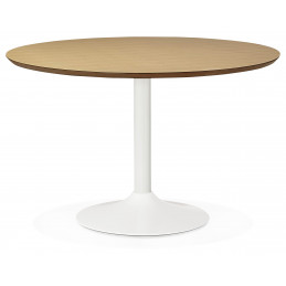 Table diner design Couleur Naturelle BLETA 120