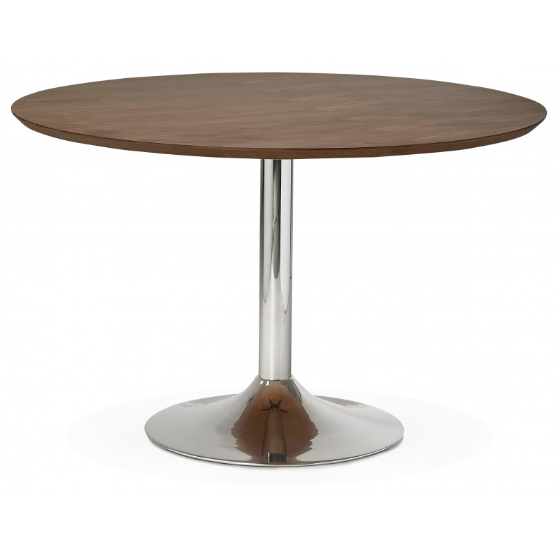 Table diner design BLETA 120 Couleur Noyer