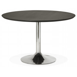 Table diner design BLETA 120 Noir