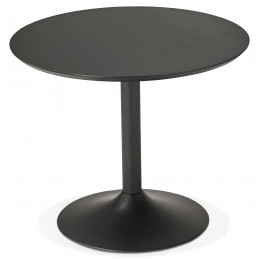 Table diner design Noir PATON 90