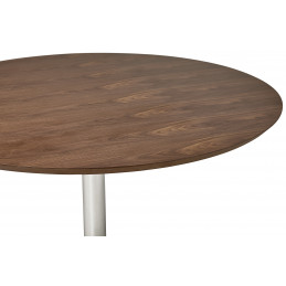 Table diner design BLETA 90 Couleur Noyer