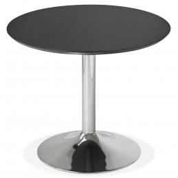 Table diner design BLETA 90 Noir