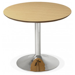 Table diner design BLETA 90 Couleur Naturelle