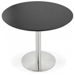 Table diner design Noir JAMIE