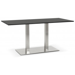 Table diner design Noir SUTTON