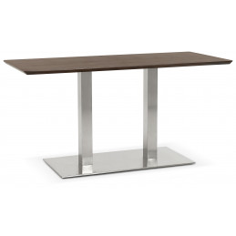 RECTA Table ˆ diner design Couleur Noyer