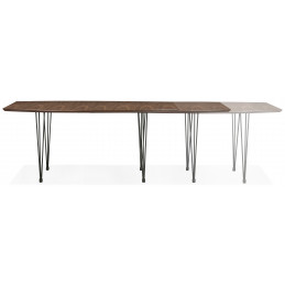 STRIK Table ˆ diner design Couleur Noyer