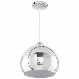 GLOW Lampe suspendue design Chrome