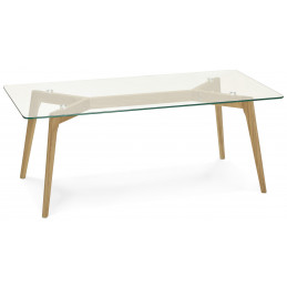 Table basse design Transparent SCARA