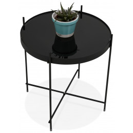 Table Basse Design Espejo Mini Noir