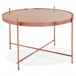 Table basse design Cuivre ESPEJO MEDIUM