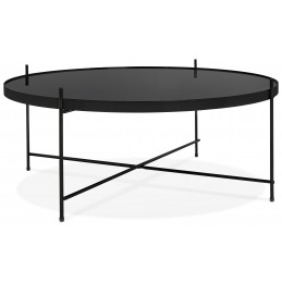 ESPEJO BIG Table basse design Noir