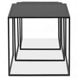 MENSOSO Table basse design Noir