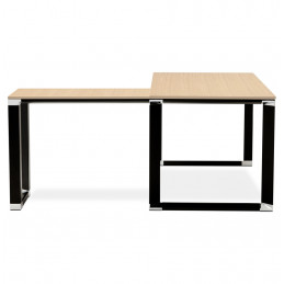 Bureau design WARNER Couleur Naturelle
