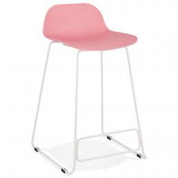 Tabouret de bar design SLADE Mini Rose