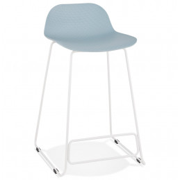 Tabouret de bar design SLADE Mini Bleu